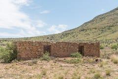 农舍的废墟 免版税图库摄影