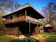 农舍-农民房子在奥尔特尼亚地区 免版税图库摄影