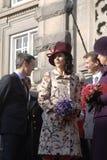 冠丹麦frederik ・玛丽王子公主 库存图片