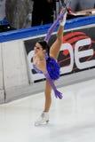 冠军冰意大利marchei溜冰者 库存照片