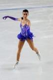 冠军冰意大利marchei溜冰者 免版税库存照片