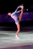 冠军冰意大利marchei溜冰者valentina 免版税图库摄影