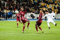 冠军同盟足球比赛发电机Kyiv -贝希克塔什, 12月 图库摄影