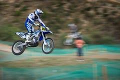 冠军摩托车越野赛mx3斯洛伐克wmx世界 库存图片