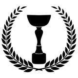 冠军杯 库存照片