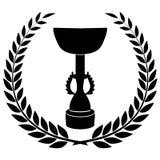冠军杯 免版税库存照片