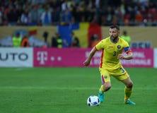 29 2011年冠军欧洲卢森堡前进合格罗马尼亚来回uefa与的neamt piatra 乔治亚-友好的比赛 免版税库存图片