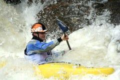 冠军科罗拉多小河陡峭的vail 免版税库存照片