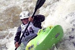 冠军科罗拉多小河陡峭的vail 库存照片
