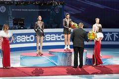 2011年冠军花样滑冰世界 库存照片