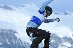 冠军雪板运动世界 免版税库存照片