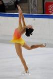 冠军garlisi冰意大利人溜冰者 免版税库存照片