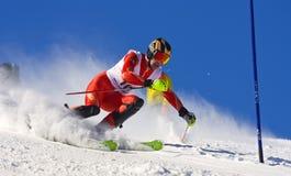 冠军jahorina滑雪 免版税库存图片