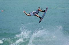 冠军wakeboard世界 免版税库存照片