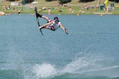 冠军wakeboard世界 免版税库存图片
