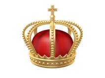冠国王 库存例证