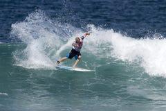 冠夏威夷肯尼迪stu冲浪的三倍 免版税库存图片