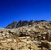 冠山脉 库存图片