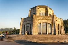 冠点景色议院,哥伦比亚河峡谷 免版税库存照片