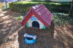 冥王星迪斯尼世界的奥兰多犬小屋 免版税库存照片