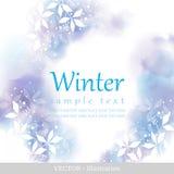 冬天。 库存例证