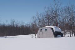 冬天乘驾 图库摄影