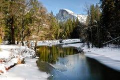 冬天优胜美地 库存图片