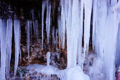 冬天冰 库存图片