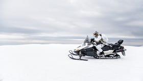 冬天北极山战争 图库摄影