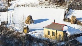 冬天印象  免版税库存照片