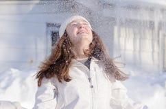 冬天喜悦 免版税库存图片