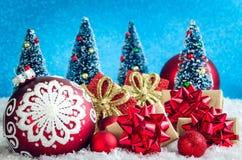 冬天圣诞节概念 免版税库存照片