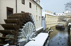 冬天在布拉格 免版税库存照片