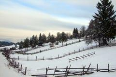 冬天在波斯尼亚5 免版税库存照片