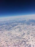 冬天在美国 免版税库存照片