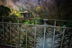 冬天在阿布哈兹 免版税库存照片