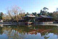 冬天在颐和园 库存照片
