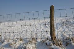 冬天在Ieper 图库摄影