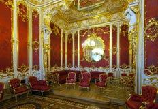 冬天宫殿内部  库存照片