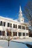 冬天教会 图库摄影