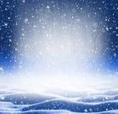 冬天明亮的背景 免版税库存照片