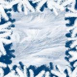 冬天框架-抽象背景 免版税库存照片
