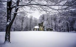 冬天框架  库存照片