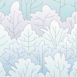 冬天森林样式 免版税库存照片