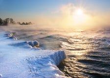 冬天横向 图库摄影