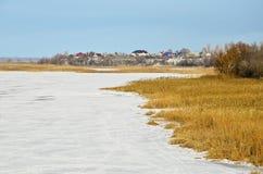 冬天横向13 免版税库存图片