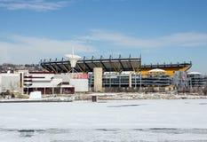 冬天海因茨体育场 库存照片