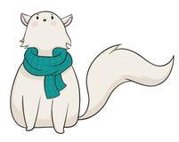 冬天猫 向量例证