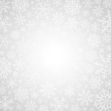 冬天白色背景 免版税库存图片
