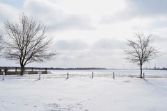 冬天空间 图库摄影